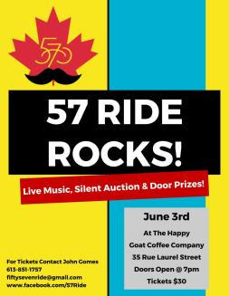 57 RIDE ROCKS Poster